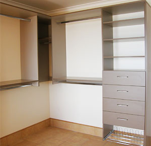 Extra storage and wardrobe space