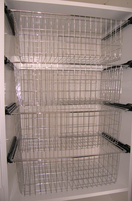 Storage baskets to get organised