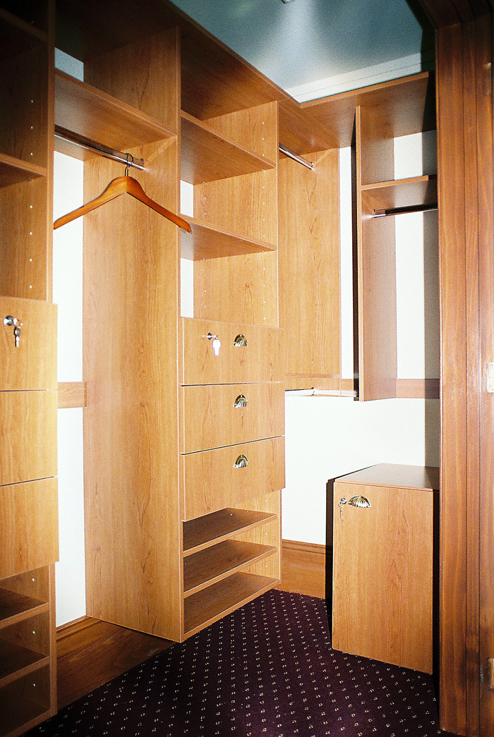 Walk-in wardrobes and closets