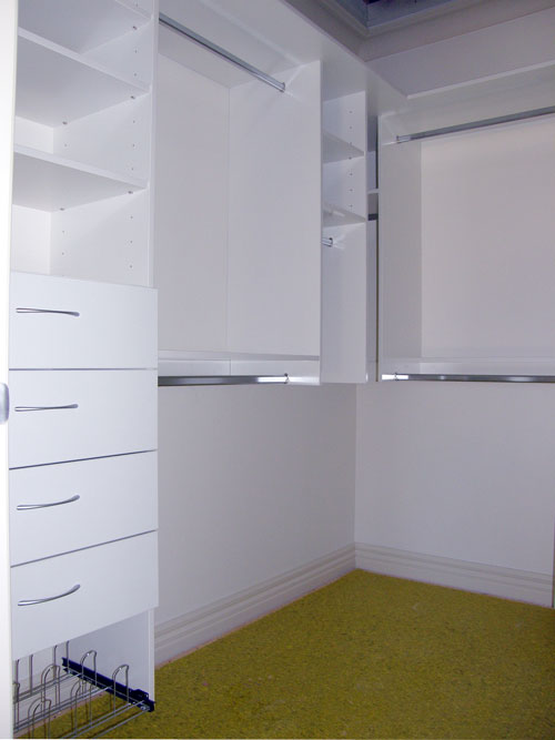 Different colour finishes for your storage solutions